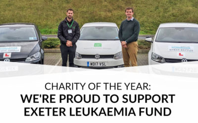 Charity of the year: We're proud to support Exeter Leukaemia Fund